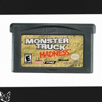 Monster Truck Madness [Nintendo Game Boy Advance GBA Truck Racing Power Up Game]