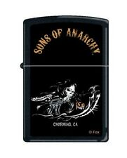 Zippo 2939 Sons of Anarchy Reaper Black Matte Finish Lighter