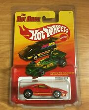 Hot Wheels The Hot Ones Ferrari GTO Red In ProPack RARE