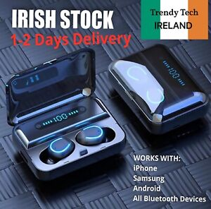 Wireless Bluetooth Headphones Earphones Earbuds For iPhone Samsung Android - NEW