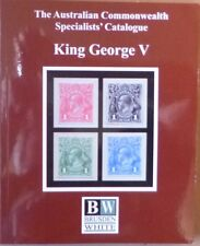 AUSTRALIA 2018 BRUSDEN WHITE SPECIALISTS' CATALOGUE GEORGE V ACSC 5th EDITION