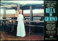 BELLE DE JOUR Italian fotobusta photobusta movie poster 2 DENEUVE LUIS BUNUEL