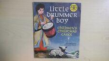 """LITTLE DRUMMER BOY Little Golden YELLOW Record 6"""" 78rpm 50s"""