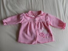 Baby C Girls Pink Long Sleeve Warm jacket Size 6-9 Months