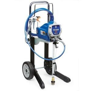Graco Airless Paint Sprayer Cart Pressure Relief Valve Power Piston Pump