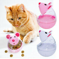 Cat Treat Dispenser Toy Temptations Interactive Pet Snacky Mouse Exercise Toys