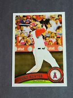 Torii Hunter Los Angeles Angels 2011 Topps #255 Sparkle SP Short Print Variation
