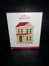 Hallmark 2013 Signed Joanne Eschrich Victorian Dollhouse Christmas Ornament HTF