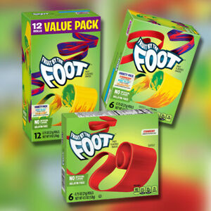 Fruit By The Foot Fruit Snack Rolls Strawberry, Variety Pack - Various