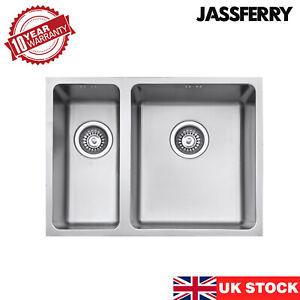 JASSFERRY Undermount Kitchen Sink 1.5 Stainless Steel Bowl 590x440 mm