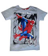 T-shirts, débardeurs et chemises gris Marvel manches courtes pour garçon de 2 à 16 ans