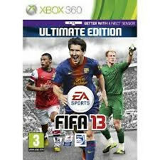 XBOX 360  - FIFA 13 GAME  (INCLUDE ULTIMATE EDITION DLC Codes) NEW SEALED PAL