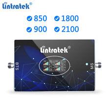 Band 5/8/3/1 Signal Booster 850 900 1800 2100 2G 3G 4G LTE CDMA GSM Amplifier