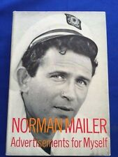 ADVERTISEMENTS FOR MYSELF - FIRST EDITION BY NORMAN MAILER