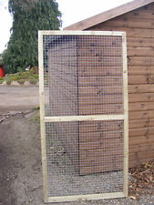 DOG RUN PANELS - SUITABLE FOR MAKE YOUR OWN***LOOK****