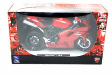 NEW RAY  DUCATI 1198 MOTORCYCLE RED 1/12 DIECAST 57143A