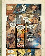PROPHET #5 page 3 Image Color Acetate Separation Comic Art page             {52}