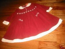 GG747 NWT 2 Gymboree Family Portrait Red Corduroy Dress