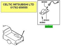 GENUINE MITSUBISHI L200 96-07 K74T REAR NUMBER PLATE LAMP SET NEW