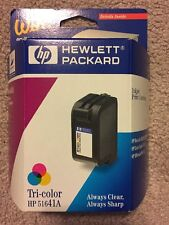 New Genuine HP 41 51641A Tricolor Printer Ink Cartridge - Expired