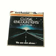 J47 Close Encounters of the Third Kind Movie Aliens viewmaster Reels Packet 130