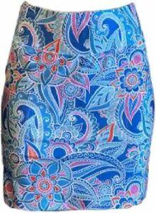 NWT Ladies B SKINZ CAPRI BLUE Golf Tennis Pull on Knit Skort S M, L & XL