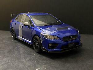 2015 Subaru WRX STi S207 NBR Challenge Package Blue 1/18 Sunstar 5552