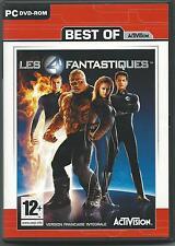jeu vidéo pour PC DVDROM les 4 fantastiques avec le livret