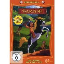 YAKARI - GESCHENKBOX (1) 2 DVD+2 CD NEU
