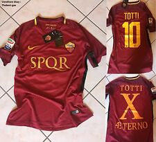 Maglia Roma SPQR Tg S M L XL Edizione Limitata Ultimo Derby Francesco Totti day