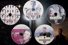 DAVID BOWIE In-Store Promotional Retrospective Music Video Reel 5 DVD Set 67-16