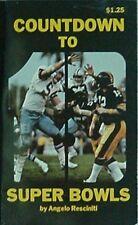 SUPER BOWLS I-XIII, 1979 BOOK (TERRY BRADSHAW/RANDY WHITE - STELLERS/COWBOYS CVR
