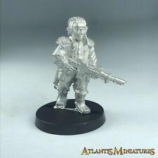 Metal Tank Crew Leman Russ Chimera Imperial Guard - Warhammer 40K X1722