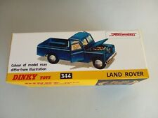DINKY TOYS 344 LAND ROVER EMPTY REPRO BOX
