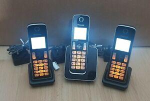 Panasonic Triple Cordless Phone Nuisance Call Blocker Panasonic KX-TGD313 Trio