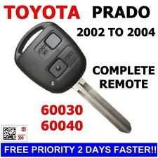 60030 Complete Toyota Prado Remote Car Key Transponder key Fob 2002 2003 2004