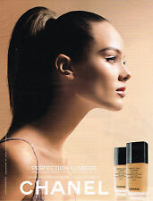 PUBLICITE ADVERTISING 035  2011  CHANEL   cosmétiques PERFECTION LUMIERE