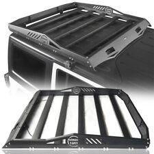 Textured Steel Rear Top Half-Rack Basket For Wrangler Jeep 07-18 JK Hard-Top