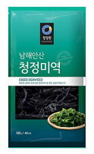 Chungjungwon Dried Seaweed Sea Mustard Miyeok Wakame 100g for 40 person