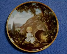 Hamilton Precious Moments Bible Story Plate He Is Not Here Sam Butcher