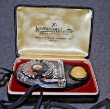 Norwood Director Exposure Meter American Bolex Company in Original Case