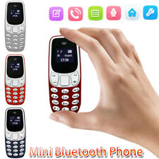 0.66Inch Mini Bluetooth Phone Worlds Small Mobile Voice Changer L8Star BM10 O6S9