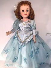 "American Character Toni Fashion Doll 24"" Twist Waist Custom Ballroom Gown 1958"