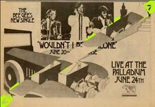 Bee Gees Live At The Palladium June 24th UK Advert MM-SDKL