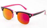 Girls Sunglasses Kids Youth UV 100% FDA Lead Free Color Mirror Lens Small Retro