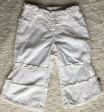 OILILY Girls Pants Size 24 Months 86 White
