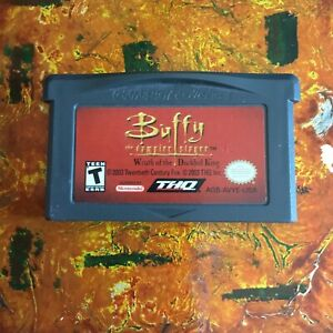 Buffy The Vampire Slayer Nintendo Gameboy ADVANCE GBA Tested AUTHENTIC
