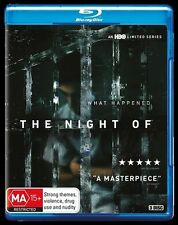 The Night Of (Blu-ray, 2016, 3-Disc Set) New, ExRetail Stock (D143)