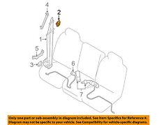 NISSAN OEM Front Seat Belt-Belt & Retractor Upper Cover 878447Y001
