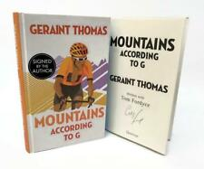 Signed Book - Mountains According to G by Geraint Thomas First Edition 1st Print